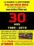 Palmi New Bike vous invite à Fêter ses 30 ANS (1989 - 2019)